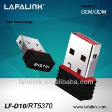 LAFALINK ralink rt5370 150mbps mini usb wifi wireless adapter,nano wifi adapter,wifi direct nano usb adapter