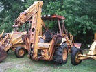 Case 580 Backhoe Loader