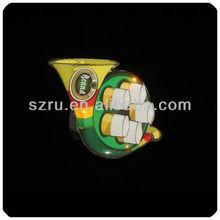 2013 hot sale flashing led lapel pin light
