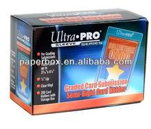 Ultra Pro Rigid Card Holders Box cardboard box paper box