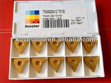 import tool solid carbide turning insert TNMA220412 TX150
