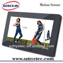 10.1 inch Wall Mounted LCD Motion Sensor digital multi media display