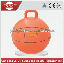 Popular plastic air filled basket hopper ball