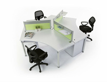 classic office furniture,curved system workstation