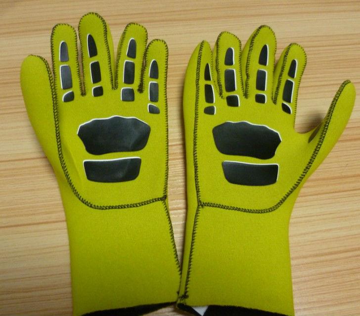 fluorescent color neoprene gloves neorepne gloves diving gloves