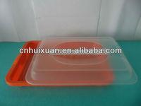 Plastic ham storage box