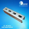Ranurado de acero unistrut canal( estándar internacional)