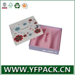 Flocking Plastic insert cosmetic set box