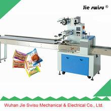 Wuhan Jie Swisu chocolate cushion pad packing machine