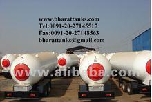 Ammonia Gas Tanks
