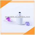 la última 5ml blanco esmalte de uñas en miniatura de botellas de vidrio
