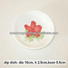 Ceramic dip dish