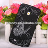Butterfly plastic hard Butterfly cover Case For samsung galaxy s4 mini i9190