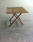 Bamboo fold table