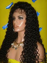 2015 Factory Stock Indian/Brazilian/Peruvian/Malaysian straight 1# color lace human hair wigs hair