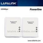 LAFALINK 200Mbps mini powerline ethernet network powerline adapter