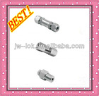 stainless steel spring loaded check valve male-female