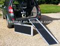 Multi folding cadeira de rodas rampa de carga