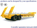 Aotong double essieux col de cygne faible 5760 pierres- tractèe( 40 remorque de camion tonne capacité)
