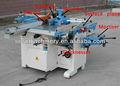 Madeira máquina de combinação para venda ml410,400mm largura de trabalho, plaina, desengrossadeira, serrar, moldador, driller, fresadora