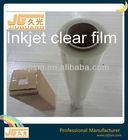 screen printing waterproof clear inkjet film