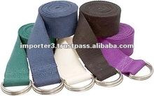 Cotton Belts for yoga / fitness Belts