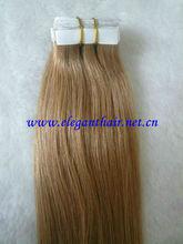 AAAAA grade 100% virgin remy hair sticker hair extension