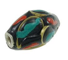 vintage large national beads