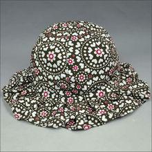 flower floral print hats