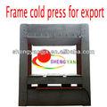 500t marco de prensado en frío de la máquina para la madera contrachapada/madera- basado en panel de maquinaria/pre- máquina de la prensa para trabajar la madera