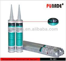 PU821 is low modulus one component polyurethane construction joints concret stone floor sealant