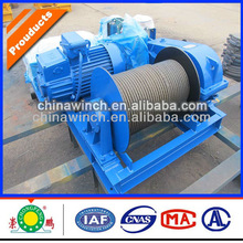 Permanent magnetic winch motor