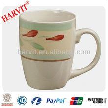dunk mug stoneware handpainted