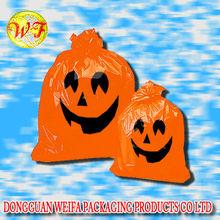 Halloween Pumpkin,Halloween Gift Decoration Plastic Bag