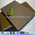 revêtement métallique de cuivre panneau composite decking panneau de configuration