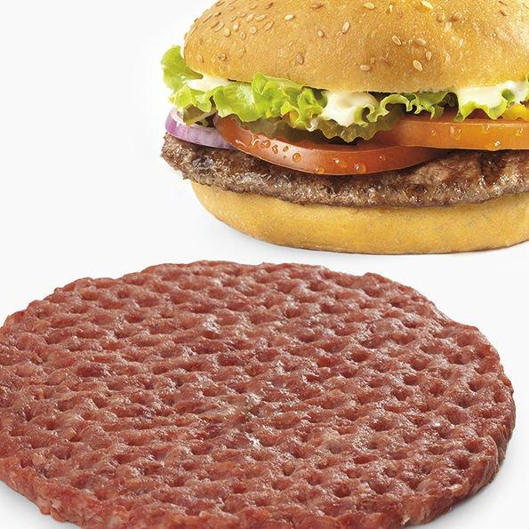 frozen beef burgers 100% beef