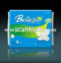 Night-use dry film Maxi-pads