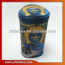 antique tea tin can