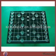 Clear Plastic Acrylic Chess