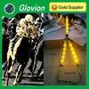 HOT SALE luminous horse halter Glow in the dark horse harness LED flashing light up nylon horse halter
