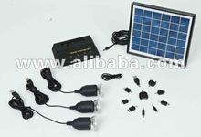 4W waterproof solar home power system