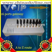 goip16 gsm cdma wcdma voip gateway, camm terminal, pabx gateway ip phone