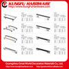 Zinc Aluminum metal filing cabinet handles