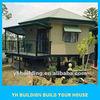 YH Building prefab villa beautiful design for sale