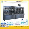 Completamente automático de la botella de bebida de la planta de agua / mineral water factory / beber línea de producción de agua