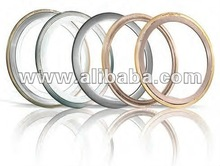 Spiral wound gasket with/without inner & outer
