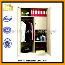 two door locker bedroom furniture/ locker box