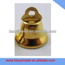 Custom hanging engraved brass bell