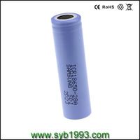 shenzhen rechargeable Lithium ion2800mAh Lithium ion batterycell