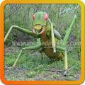 Espectáculo exterior gigante dinosaurios Animatronic insectos